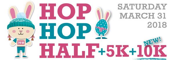 2018 Hop Hop Half 10K 5K Logo