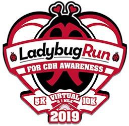 2019 Ladybug Run 5K 10K Logo