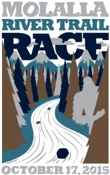 2015 Molalla River Trail Race Logo