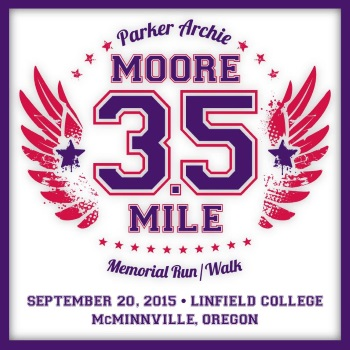2015 Parker Archie Moore 3.5 Mile Memorial Run/Walk Logo