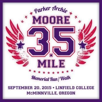 2015 Parker Archie Moore 3.5 Mile Memorial Run/Walk Logo