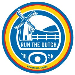 2016 Run The Dutch 5K Logo