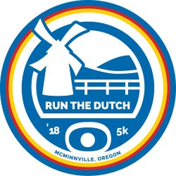 2018 Run The Dutch Logo