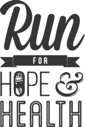 2019 Run for Hope and Health Logo