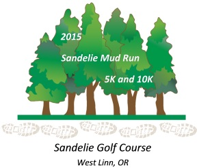2015 Sandelie Mud Run 5k and 10k Logo