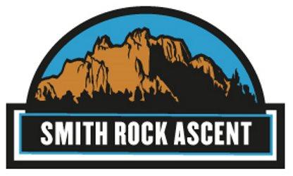 2017 Smith Rock Ascent 4 Miler, 15 Miler, 50K Logo