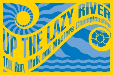 2015 Up The Lazy River 10K and Masters Championships Logo