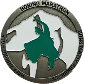 2020 Virtual Boring Marathon Logo