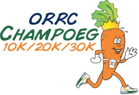 2015 ORRC Champoeg 10K/20K/30K Logo