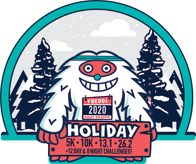 2020 Virtual Holiday Half Logo