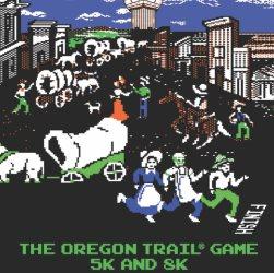 2017 Oregon Trail Game 5K Logo