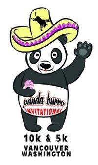 2016 Panda Burro Invitational 5K and 10K Logo