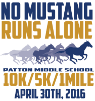 2016 No Mustang Runs Alone Logo