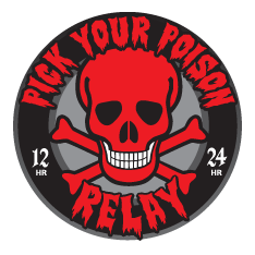 2016 Pick Your Poison 12 Hour and 24 Hour Relay Logo