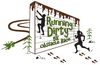 2018 Running Dirty 5K Obstacle Race Logo